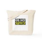 'Bone Cancer Survivor' Tote Bag