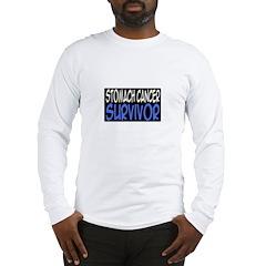 'Stomach Cancer Survivor' Long Sleeve T-Shirt