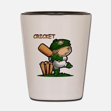 Cricket Shot Glass