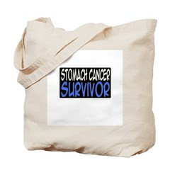 'Stomach Cancer Survivor' Tote Bag