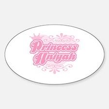 """Princess Aniyah"" Oval Decal"