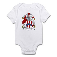 Carpenter Family Crest Infant Bodysuit