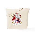 Carpenter Family Crest Tote Bag