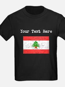 Lebanon Flag (Distressed) T-Shirt