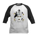 Capper Family Crest Kids Baseball Jersey