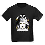 Capper Family Crest Kids Dark T-Shirt