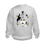 Capper Family Crest Kids Sweatshirt