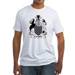 Canfield Family Crest  Fitted T-Shirt