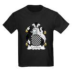 Canfield Family Crest  Kids Dark T-Shirt