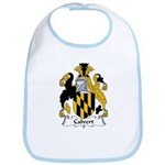 Calvert Family Crest Bib