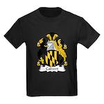 Calvert Family Crest Kids Dark T-Shirt