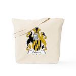 Calvert Family Crest Tote Bag