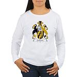 Calvert Family Crest Women's Long Sleeve T-Shirt