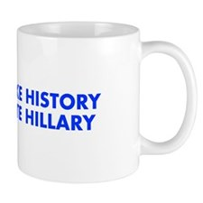 Make History Vote Hillary-Fut blue 400 Mugs