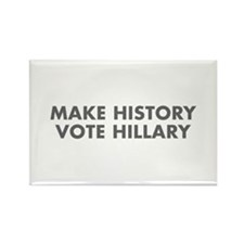 Make History Vote Hillary-Fut gray 400 Magnets