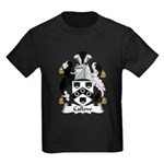 Callow Family Crest Kids Dark T-Shirt