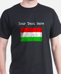 Hungary Flag (Distressed) T-Shirt