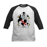 Calley Family Crest Kids Baseball Jersey