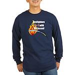 Fire Fighters Do it Long Sleeve Dark T-Shirt