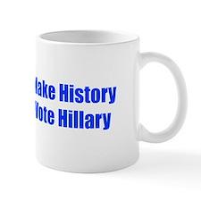Make History Vote Hillary-Imp blue 400 Mugs
