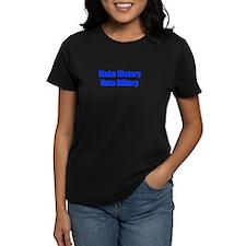 Make History Vote Hillary-Imp blue 400 T-Shirt