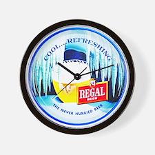Regal Beer Wall Clock