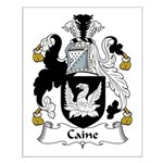 Caine Family Crest  Small Poster