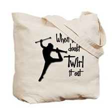TWIRL IT OUT (both sides) Tote Bag