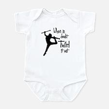 TWIRL IT OUT Infant Bodysuit