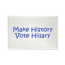 Make History Vote Hillary-Kri blue 400 Magnets