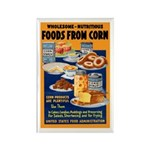 Foods from Corn Rectangle Magnet (10 pack)