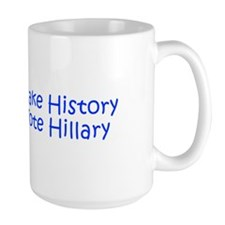 Make History Vote Hillary-Kri blue 400 Mugs