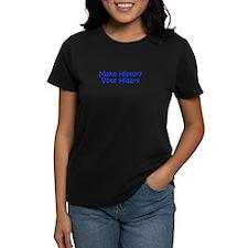Make History Vote Hillary-Kri blue 400 T-Shirt