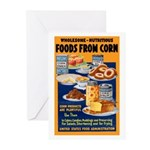 Foods from Corn Greeting Cards (Pk of 20)