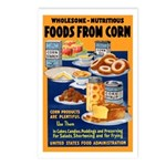 Foods from Corn Postcards (Package of 8)