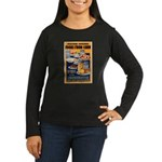 Foods from Corn (Front) Women's Long Sleeve Dark T