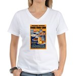 Foods from Corn (Front) Women's V-Neck T-Shirt