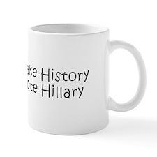 Make History Vote Hillary-Kri gray 400 Mugs