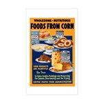 Foods from Corn Rectangle Sticker