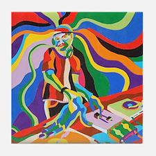 The DJ Tile Coaster