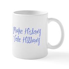 Make History Vote Hillary-MAS blue 400 Mugs