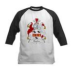 Bushe Family Crest Kids Baseball Jersey