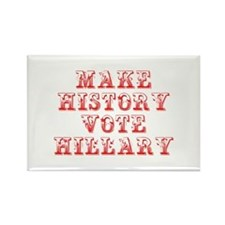 Make History Vote Hillary-Max red 400 Magnets