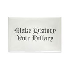 Make History Vote Hillary-Old gray 400 Magnets