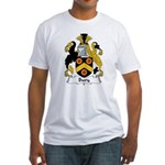 Bury Family Crest Fitted T-Shirt