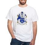 Burrough Family Crest White T-Shirt