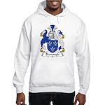 Burrough Family Crest Hooded Sweatshirt
