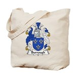 Burrough Family Crest Tote Bag