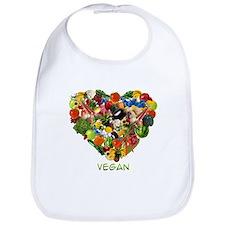 I Love Vegan Bib