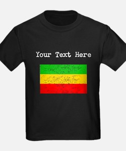 Ethiopia Flag (Distressed) T-Shirt